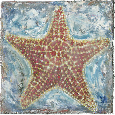 Encaustic Painting - Star Of The Sea II by Danielle Perry