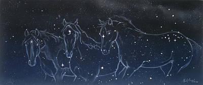 Pastel - Star Spirits by Kim McElroy