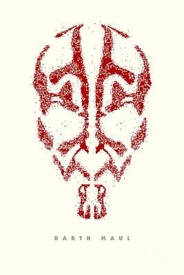 Stormtrooper Digital Art - Star Wars - Darth Maul by Luca Oleastri