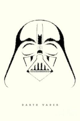Stormtrooper Digital Art - Star Wars - Darth Vader by Luca Oleastri