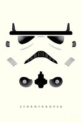 Stormtrooper Digital Art - Star Wars - Stormtrooper by Luca Oleastri