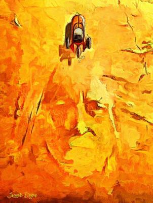 Dragon Digital Art - Star Wars Tatooine - Da by Leonardo Digenio