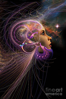 Future Dreaming Digital Art - Starborn by John Edwards