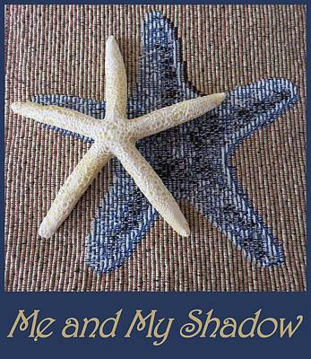 Photograph - Starfish Me And My Shadow by Patricia Urato