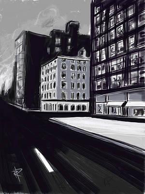 Stark City Print by Russell Pierce