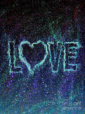 Starry Eyed Love Print by Bill Holkham