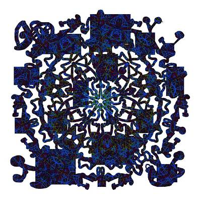 Starry Night Variations Number 1 Print by John Groves