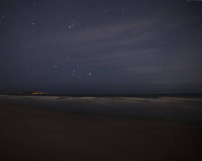 Astros Digital Art - Starry Sky Over Good Harbor Beach Gloucester Ma by Toby McGuire