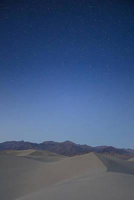 Vertical Photograph - Stars In The Desert by Jon Glaser