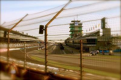 Start Finish Indianapolis Motor Speedway Original by Iconic Images Art Gallery David Pucciarelli