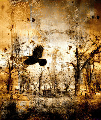 Apocalyptic Digital Art - Start Of Chaos  by Gothicolors Donna Snyder