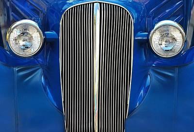 Headlight Photograph - Startled Car by Dan Holm