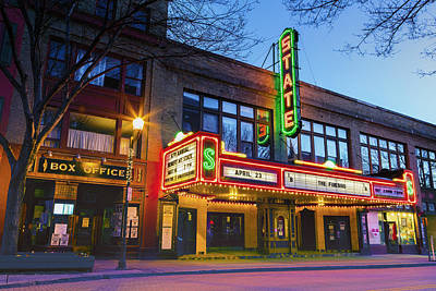 State Theatre - Ithaca Ny Print by Stephen Stookey