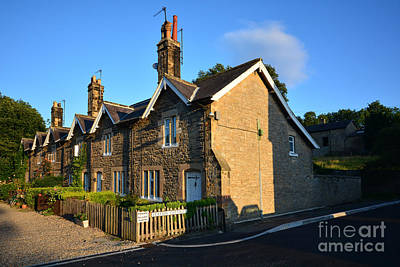 Cottage Photograph - Station Cottages, Richmond by Stephen Smith