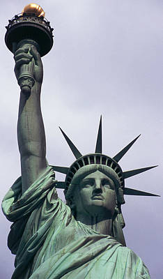 Statue Of Liberty Torch Sculpture - Statue Of Liberty by Auguste Bartholdi
