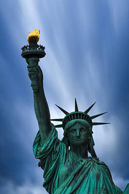 Statue Of Liberty Print by Martin Newman