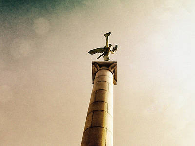 Helsingborg Photograph - Statue Of Mercury by Ramon Martinez