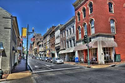 Mail Box Photograph - Staunton Virginia by Todd Hostetter