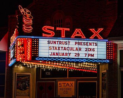 Otis Photograph - Staxtacular Night by Stephen Stookey