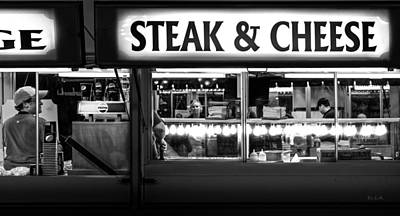Dinner Photograph - Steak And Cheese by Bob Orsillo