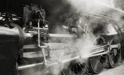 Steam Power Print by Richard Rizzo
