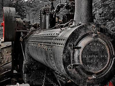 Steam Tractor Photograph - Steam Tractor by Scott Hovind