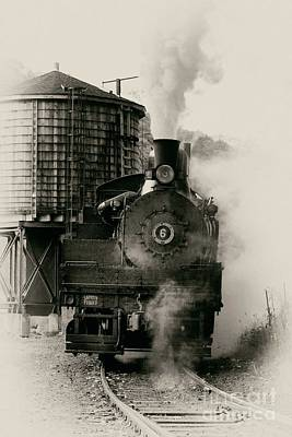 Steam Train Print by Jerry Fornarotto