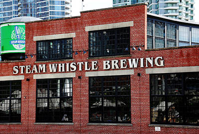 Steam Whistle Brewing Print by Debbie Oppermann