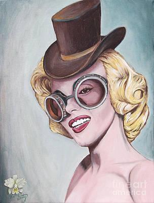 Steampunk Marilyn  Original by Thomas Goetz