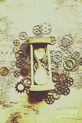 Minute Photograph - Steampunk Time by Jorgo Photography - Wall Art Gallery