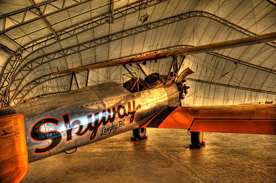 Stearman Print by Jason Evans