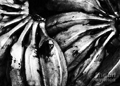 Banana Digital Art - Steel Bananas by Sarah Loft