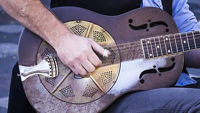 Steel Guitar Print by Steven Ralser