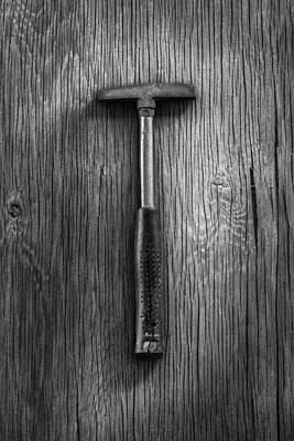 Hammer Photograph - Steel Tack Hammer by YoPedro