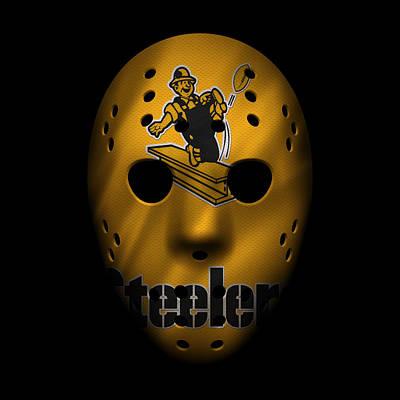 Pittsburgh Steelers Photograph - Steelers War Mask 3 by Joe Hamilton