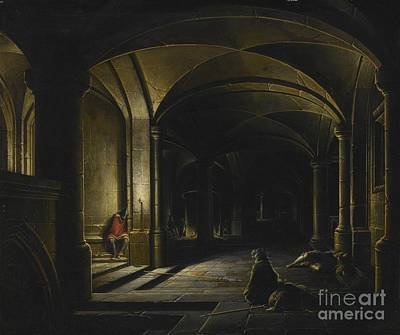 Prison Painting - Steenwyck The Younger by Hendrick
