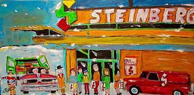Painting - Steinberg Beaubien Montreal by Michael Litvack
