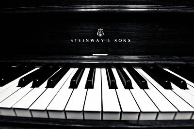 Steinway And Sons Print by Sam Hymas