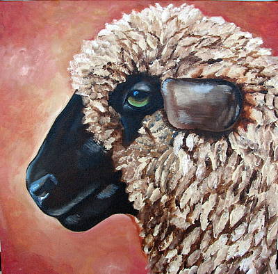 Romney Painting - Stella by Laura Carey