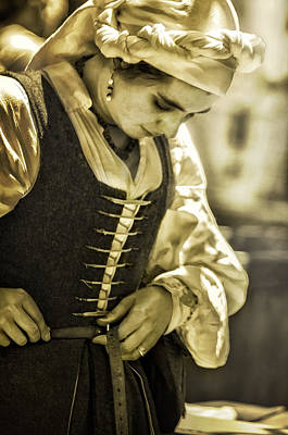 Renaissance Fairs Photograph - Step Back In Time by Camille Lopez