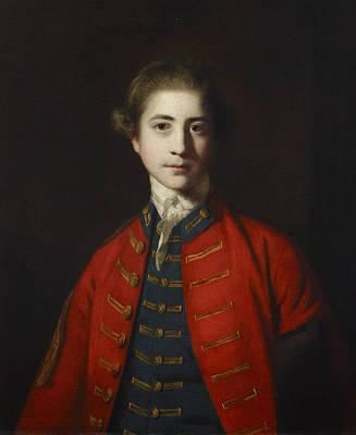 18th Century Painting - Stephen Croft Junior by Joshua Reynolds