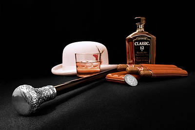 Cigars Photograph - Steppin Out by Tom Mc Nemar