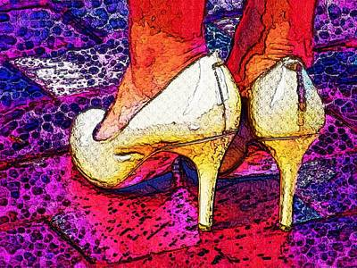Stepping Out Tonight Print by Alec Drake