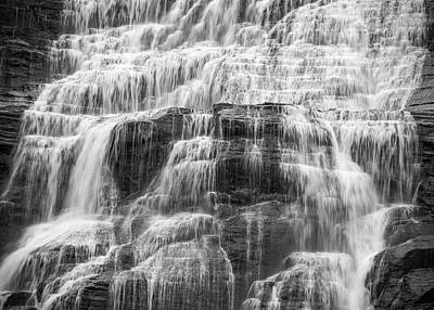 Finger Lakes Photograph - Steps And Flows by Kristopher Schoenleber
