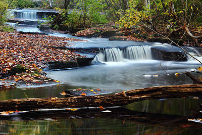 Stepstone Falls Print by Andrew Pacheco
