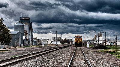Sterling Colorado Storms Print by Darren  White