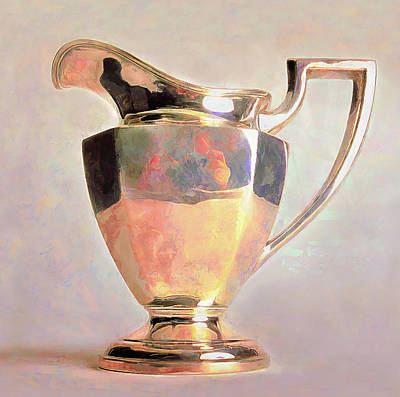Sterling Silver Photograph - Sterling Pitcher by Scott Griswold