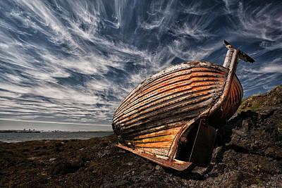 Forgotten Photograph - Stern Boat by ?orsteinn H. Ingibergsson
