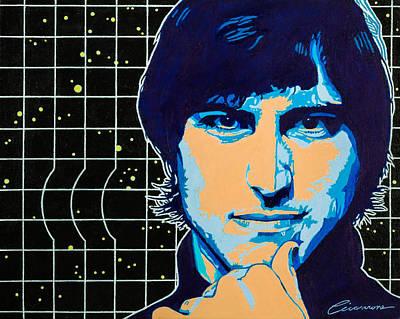 Steve Jobs Print by Joe Ciccarone