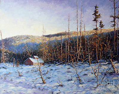 Finding Fine Art Painting - Steve's Place by Richard T Pranke